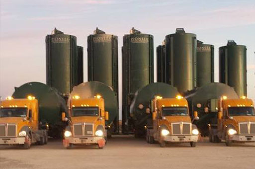 Northwest Logistics Silo Storage
